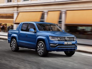Amarok V6 on the move