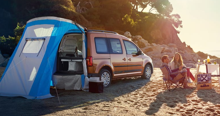 volkswagen caddy beach review