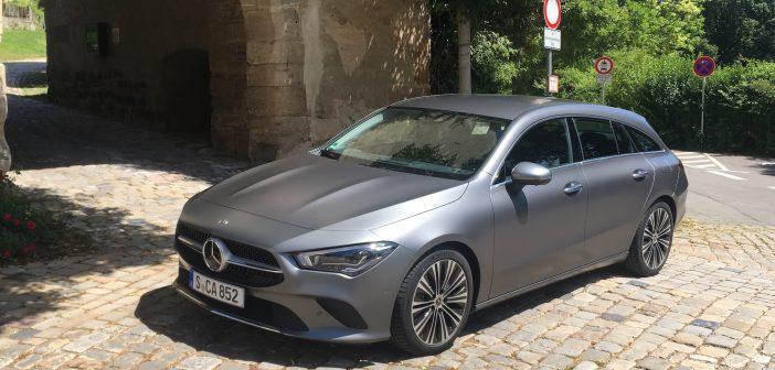 Mercedes Benz CLA Shooting Brake review