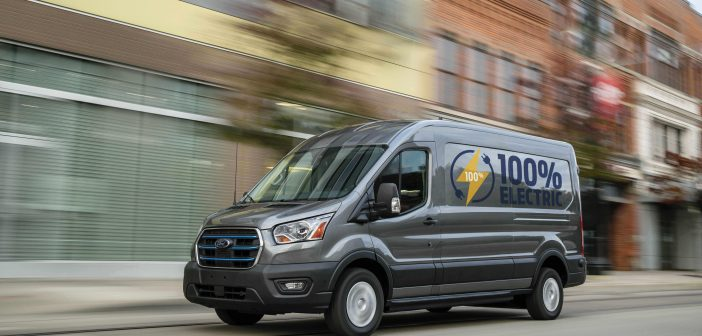 Ford's E-Transit is Electric!